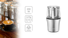 Młynek udarowy do przypraw, nasion i kawy MMK-06M (3)